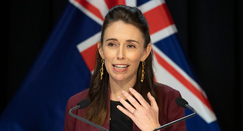 Nueva Zelanda: Jacinda Ardern mantiene la calma en vivo durante terremoto. (Foto: AFP).