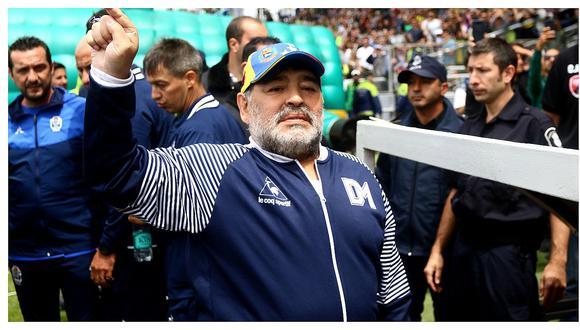 Diego Maradona le ganó un juicio a Dolce & Gabanna por usar su nombre sin su consentimiento. (Foto: Agencias)