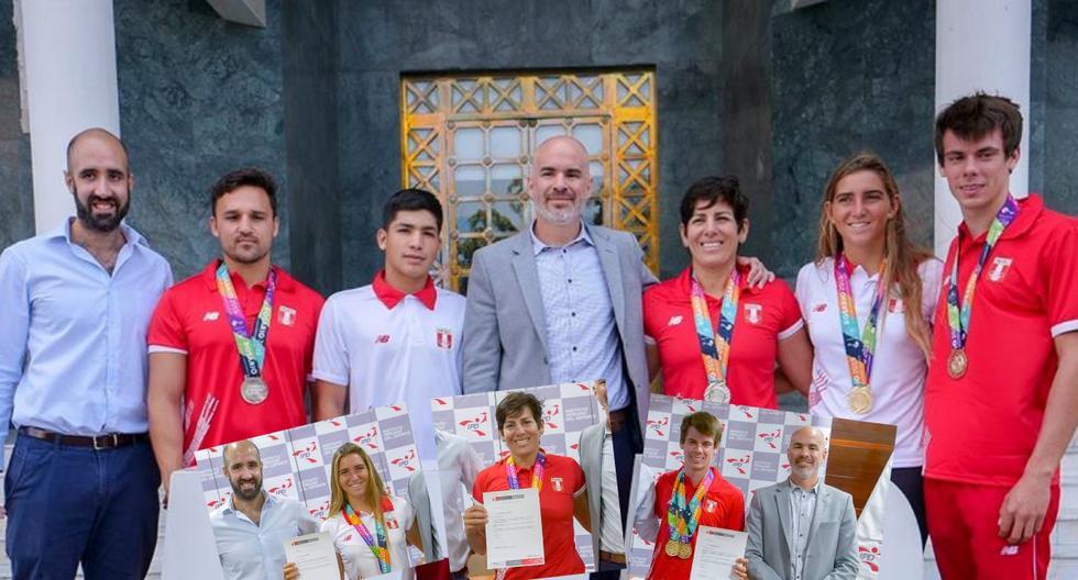 Eqquipo peruano de deportes de playa fue premiado por su logro en Sudamricano