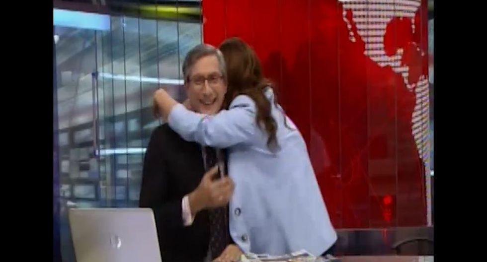 Federico Salazar y Verónica Linares