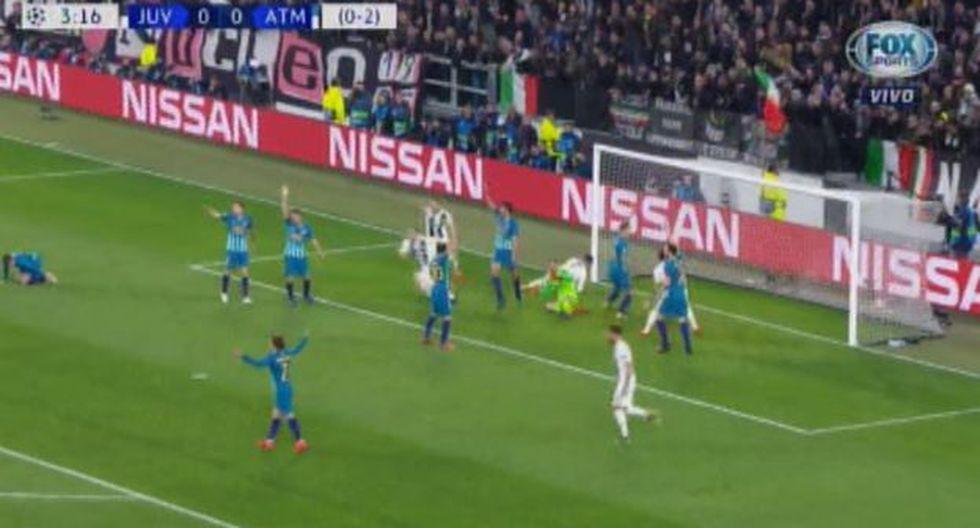 Gol anulado a Juventus