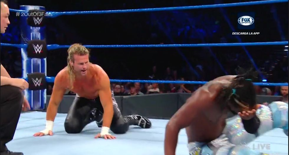 Kofi Kingston ahora sí puso en claro su superioridad sobre Dolph Ziggler. (WWE)