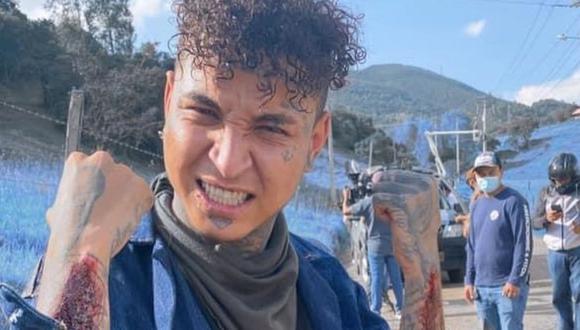 El papel que lo hizo debutar en las pantallas fue el de Riquelme, un joven que se hizo amigo de Charly Flow en las frías paredes de la cárcel (Foto: Rapza / Instagram)