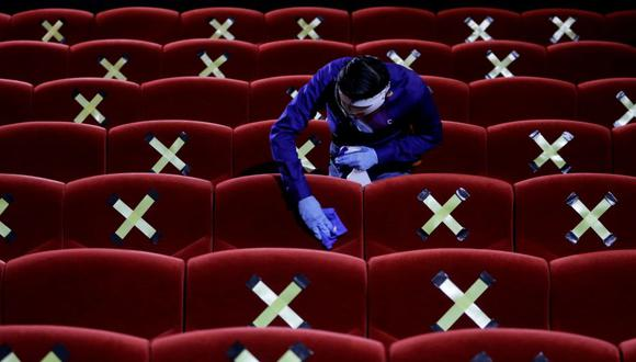 la siguiente semana empezarían a probar protocolos para la reapertura de cines