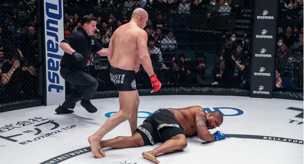 Fedor volvió a lo grande a Japón con brutal KO sobre Rampage. (Fotos: Rizin FF)