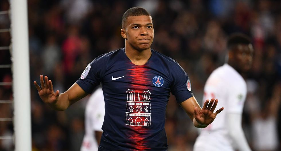 Goles de Mbappé en PSG vs Mónaco por Liga de Francia