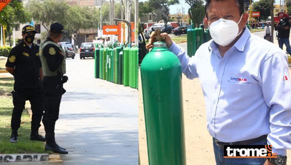 Inescrupulosos amenazaron al 'Ángel del Oxígeno' Luis Barsallo. (Foto: Lino Chipana GEC)