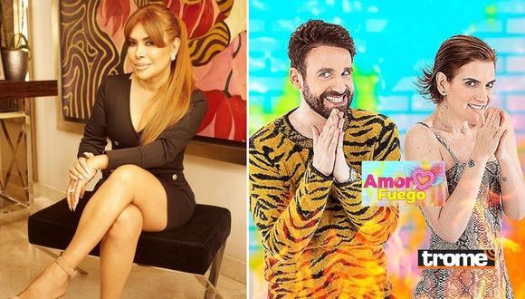 Magaly Medina explota contra Amor y Fuego