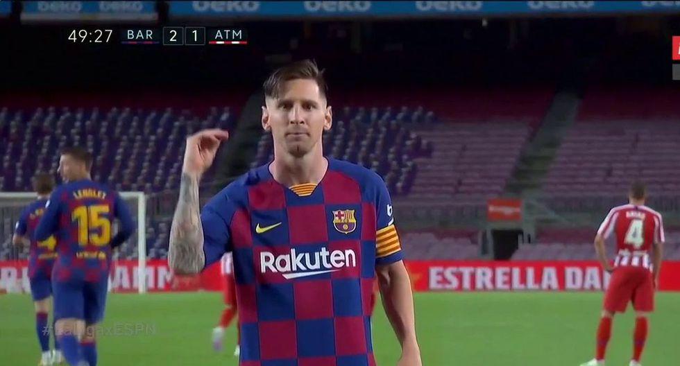 Gol 700 de Lionel Messi como futbolista profesional