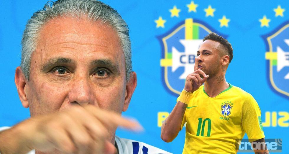 Tite tomó distancia sobre caso de violación que involucra a Neymar.