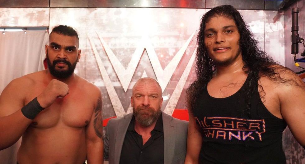 Nuevos gigantes de la India impresionaron al Universo WWE | VIDEO