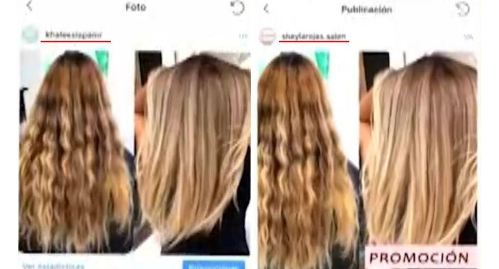 Sheyla Rojas copia las fotos del spa de Maricris Rubio