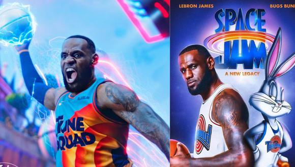 Salieron a  la luz  las primeras imágenes de Space Jam 2 con el jugador de la NBA como protagonista Composición: Trome