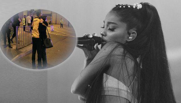 Ariana Grande regresa a Manchester