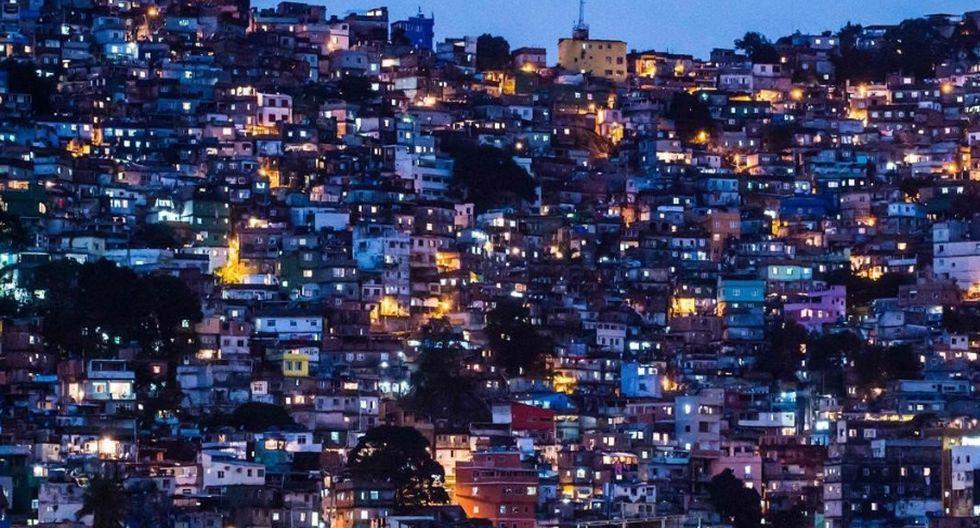 Una de las favelas de Río de Janeiro que acatarán el 'toque de queda'. (Agencias)
