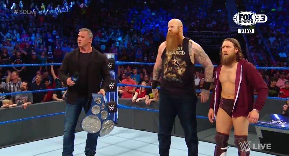 Bryan y Rowan ganaron los títulos. (WWE)