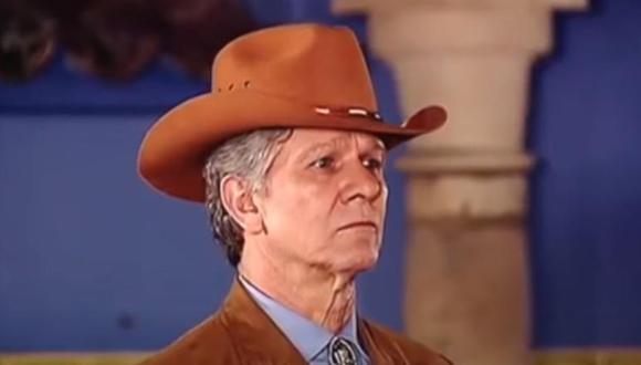 Julio del Mar es uno de los actores de Pasión de gavilanes que ya falleció (Foto: Pasión de gavilanes / Telemundo)