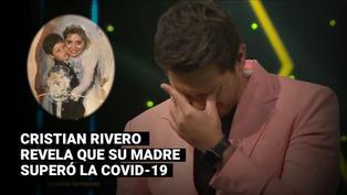 """""""Yo Soy"""": Cristian Rivero no pudo contener las lágrimas al contar que su mamá superó la COVID-19"""