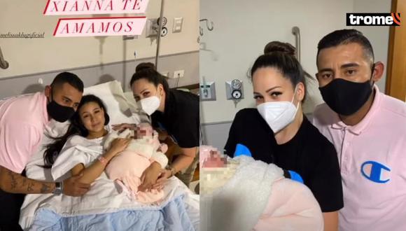 Abel Lobatón y sus fotos con Melissa Klug y su hija Samahara