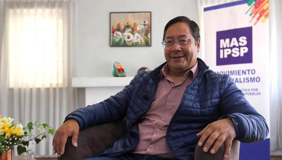 El electo ganador de las elecciones presidenciales, Luis Arce. (Foto: EFE)