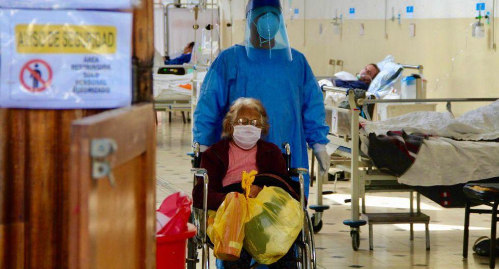 Doña Julia Sánchez Vega estuvo 26 días luchando contra el COVID-19. (Foto: Minsa)