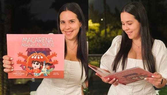 La actriz ha publicado su primer libro 'Macarena abraza el miedo'.