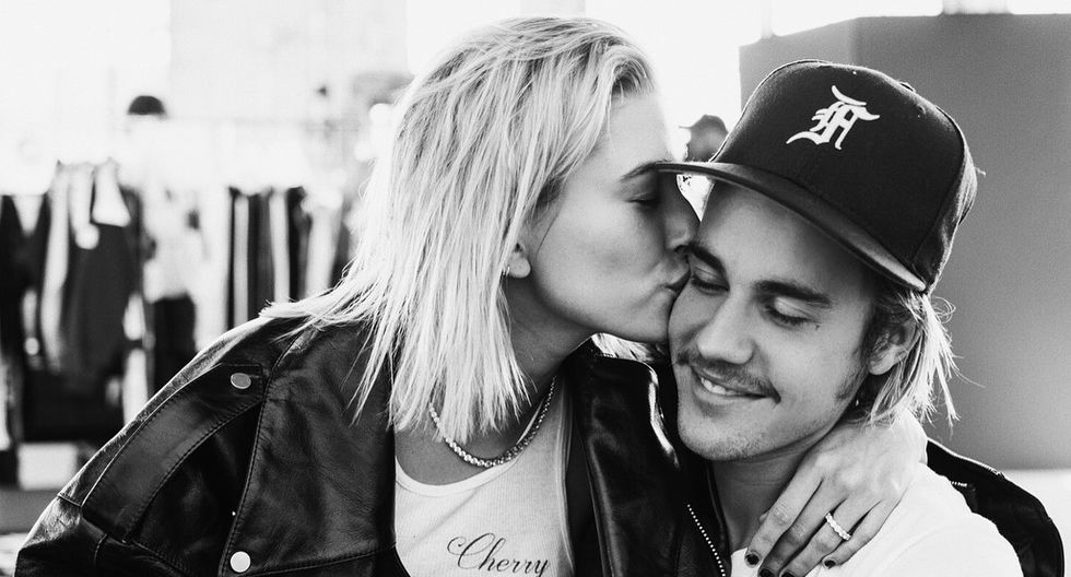 Justin Bieber le declara su amor a Hailey Baldwin en Instagram. (Foto: Instagram)