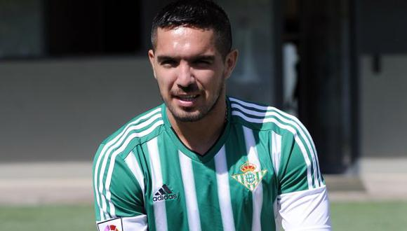 Juan Manuel Vargas jugó la temporada 2015-16 en Real Betis. (Foto: AFP)