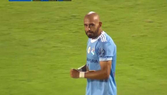 Marcos Riquelme logró doblete con Sporting Cristal en Liga 1.