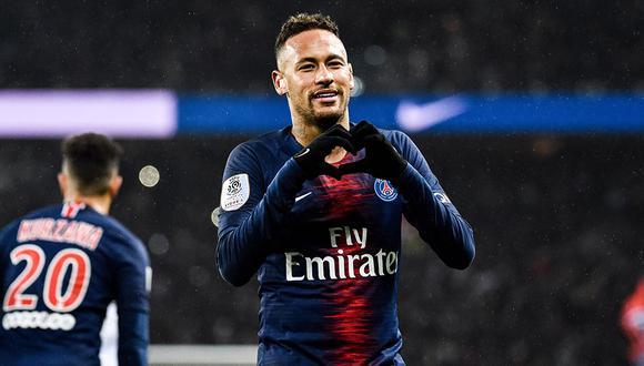 Neymar sufrió la reactivación de su lesión al quinto metatarsiano y hay preocupación en PSG. (Foto: Facebook PSG)
