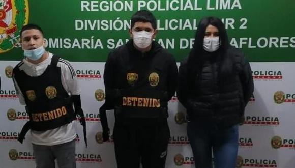 Cuatro presuntos miembros de la banda 'Los Rápidos y Furiosos de San John', entre ellos una menor, fueron intervenidos tras una persecución. (foto: TROME)
