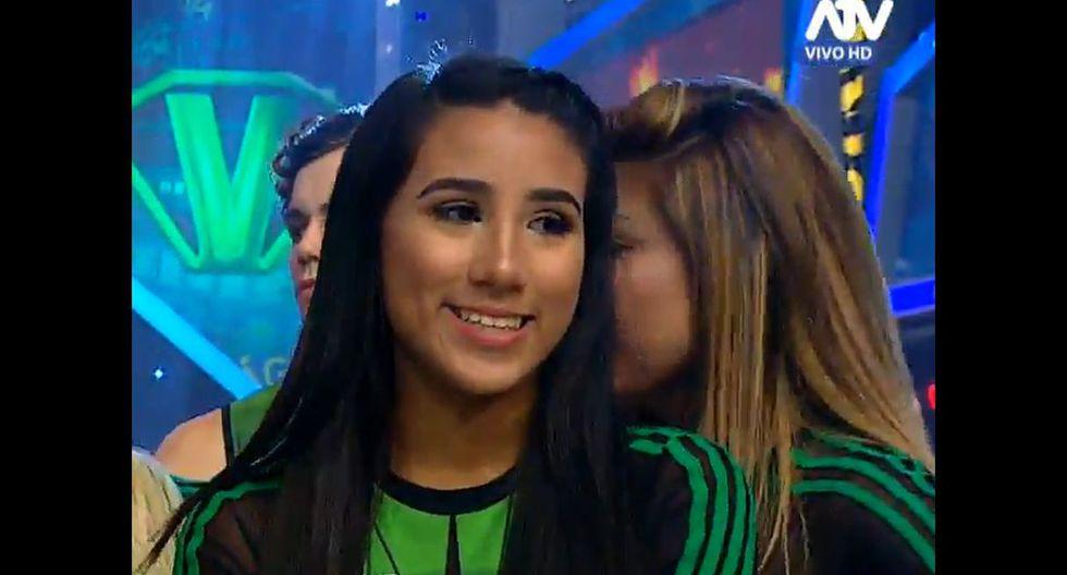 Samahara Lobatón en Combate se quedó sin sonreír