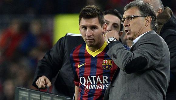 La reveladora frase de Gerardo Martino a Lionel Messi. (AFP)