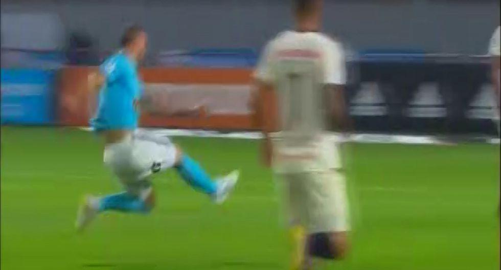 Emanuel Herrera sufrió grave lesión y salida en camilla impactó a todos en el Universitario vs Cristal