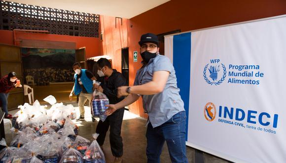 Programa de la ONU lleva más de 2000 mil toneladas de alimentos para 15 regiones (Foto: difusión)