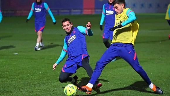 Lionel Messi agradecido con este premio a su valores (Foto: @FCbarcelona_es)