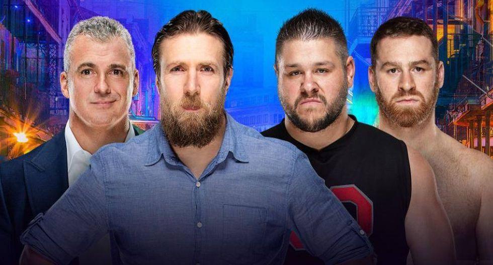 Wrestlemania 34, el gran evento de la WWE. (Fotos: WWE)