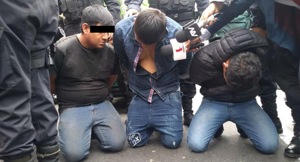Frustran robo a tienda de equipos electrónicos y chapan a tres delincuentes. Foto: Municipalidad de San Isidro