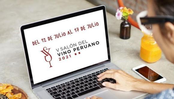 Esta edición del Salón del Vino Peruano irá hasta el 17 de julio.