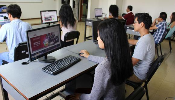 Se registraron varias fallas durante el primer examen virtual de la San Marcos. (Foto: UNMSM)