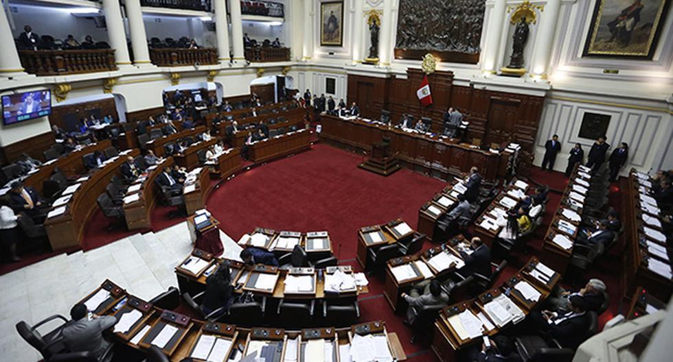 El Congreso de la República hubiera podido evaluar el segundo proyecto de reforma constitucional de haber recibido el informe aprobado en Constitución. (Foto: El Comercio)
