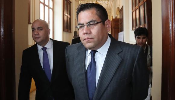 Gabriel Prado se acogió a la figura de colaboración eficaz