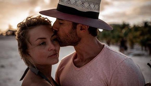Angelique Boyer y Sebastián Rulli se divierten en cuarentena bailando (Foto: Instagram)