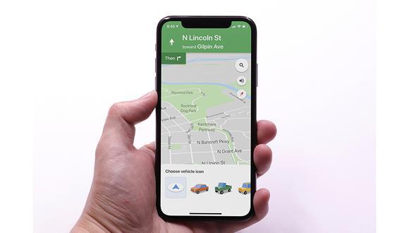 ¿Quieres cambiar el GPS de color azul de Google Maps por un auto? Sigue este sensacional truco y realízalo en el mapa. (Foto: Google)
