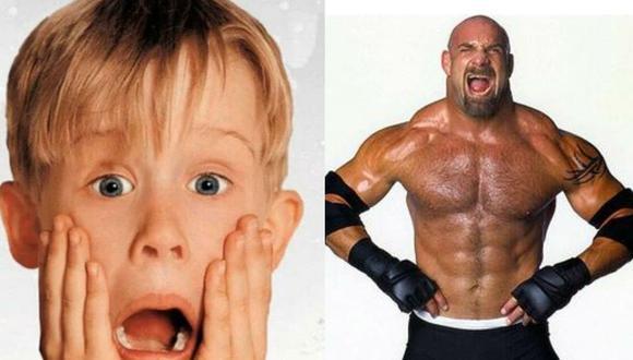 Maculay no esperaba una respuesta de Goldberg. (WWE)