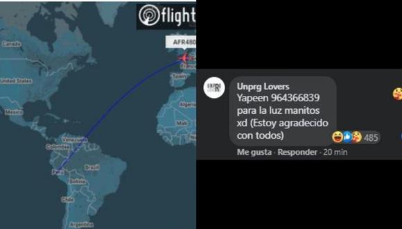 Transmisión en Facebook de la llegada de vacunas al Perú se convierte viral
