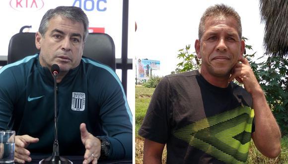 Pablo Bengoechea y 'Puma' Carranza