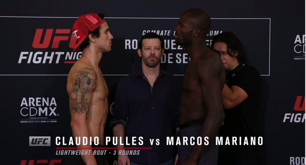 (Captura UFC)