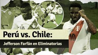 Los partidos de Jefferson Farfán ante Chile por Eliminatorias