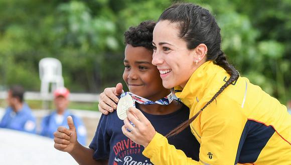 Maria Pajón es una de las atletas que engalana estos Juegos panamericanos Lima 2019. (Foto: AFP)